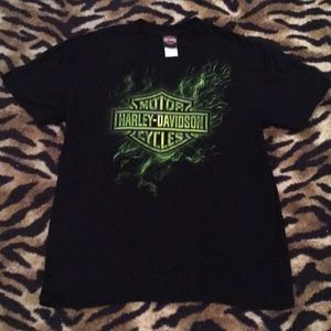 Harley-Davidson Motors Cycles Shirt Size Large